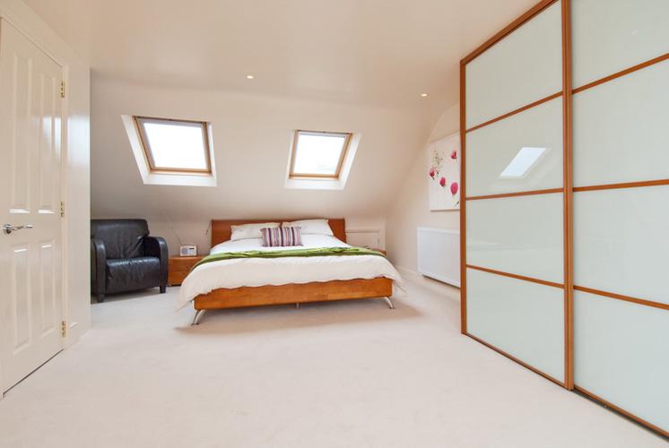 design ideas for attic bedrooms - Loft Conversion Brighton and Hove BrightViewLofts Ltd